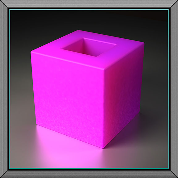Holed Cube IV, 2011