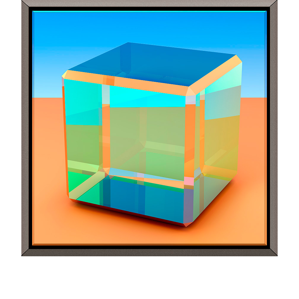 Glass Cube IV, 2012